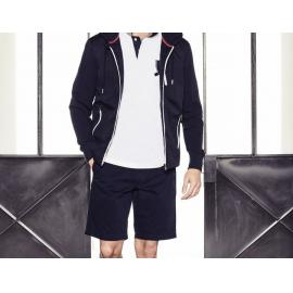 Bermuda 5 poches regular fit en coton uni