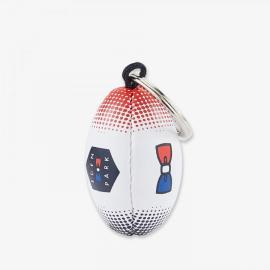 Porte-clés ballon de rugby Hexa tricolore