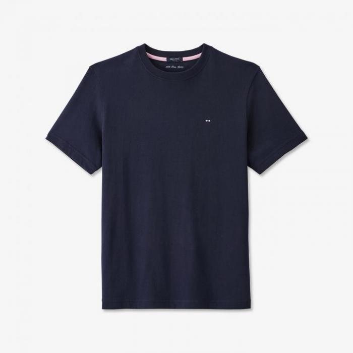T-shirt en coton avec nœud papillon brodé