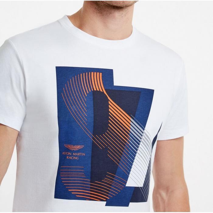 T-shirt imprimé Aston Martin Racing