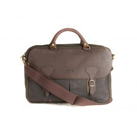 PORTE DOCUMENT EN CUIR BARBOUR WAX