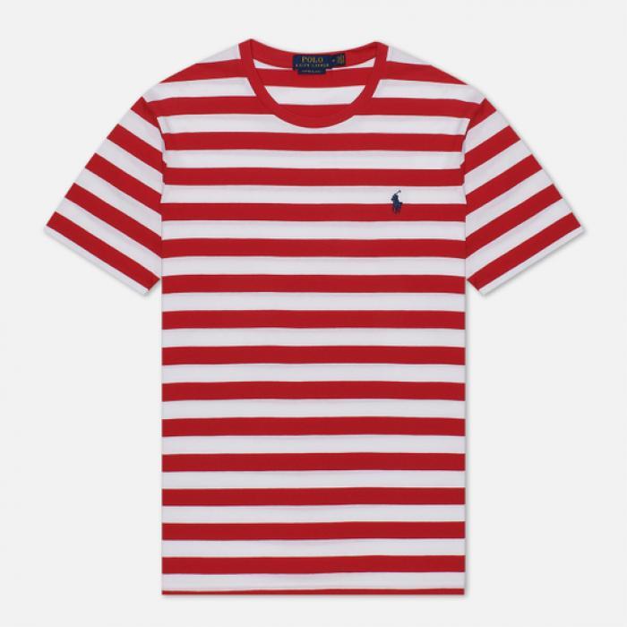 T-shirt rayé ajusté
