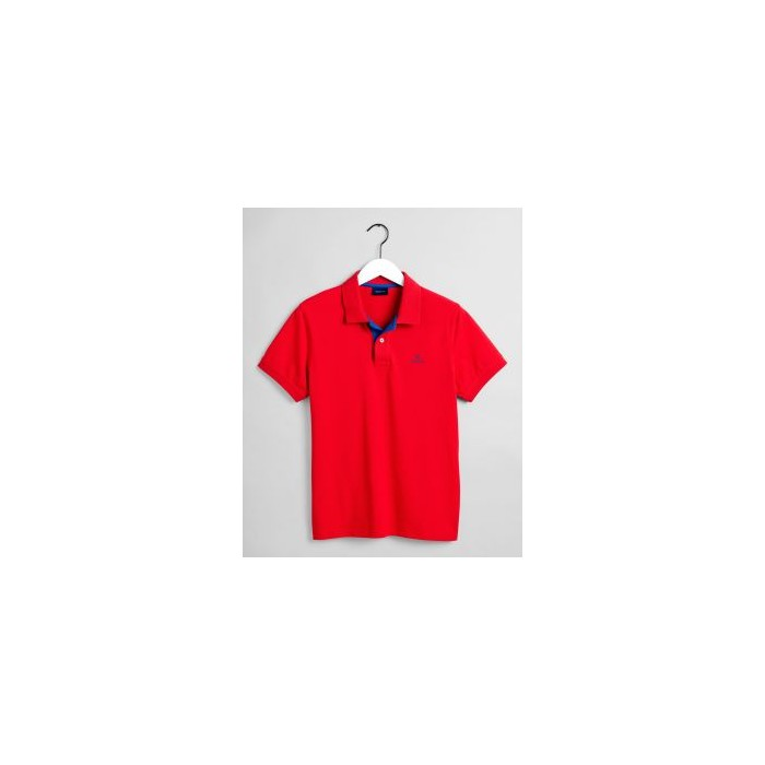GANT Polo Rugger col contrastant