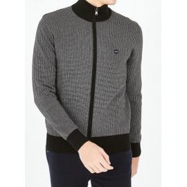 Cardigan Hexa en coton chiné