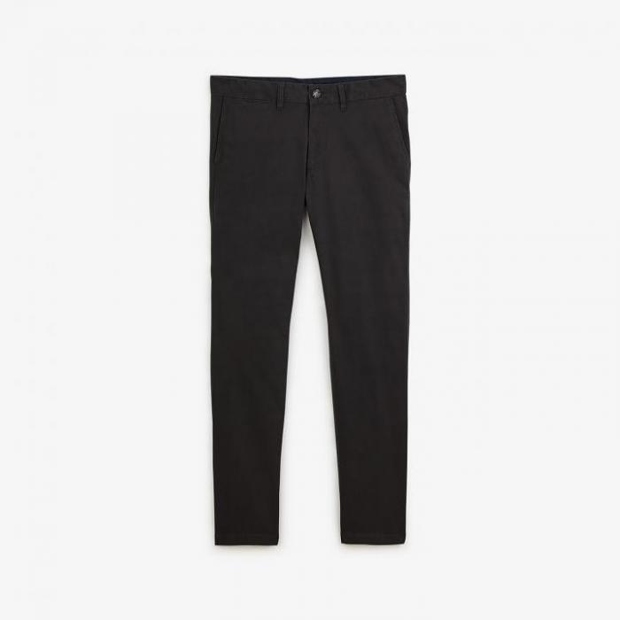 Pantalon chino en coton stretch.