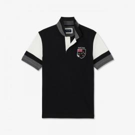 Polo Nouvelle-Zélande à manches courtes en coton.