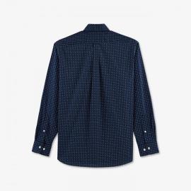 Chemise en coton Pima à motif nœuds.