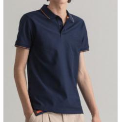 POLO RUGGER SLIM FIT EN SERGE TEXTURE